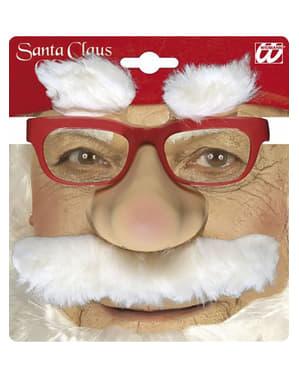 鼻を持つ父のクリスマスメガネ