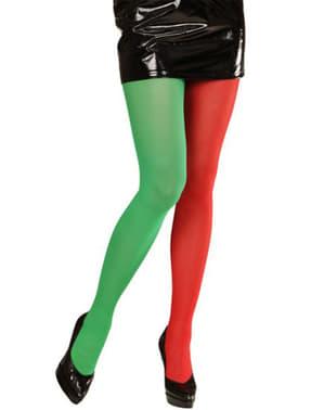 Meias-calças natalícias de gnomo