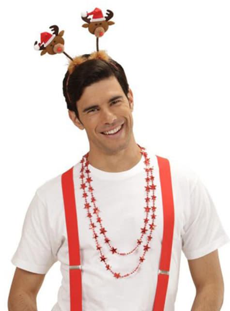 Diadema con renos - para tu disfraz