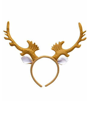 Alpha reindeer horns