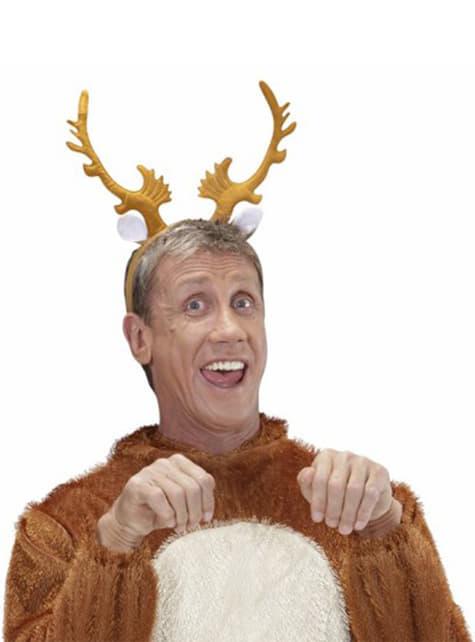 Alpha reindeer horns