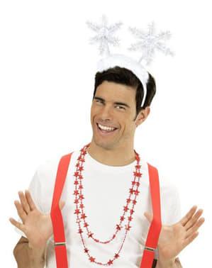 Schneeflocken Haarreif