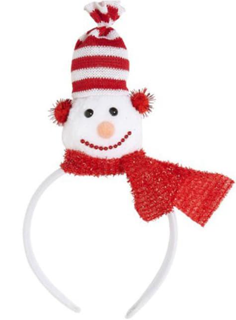 Bandolete de boneco de neve
