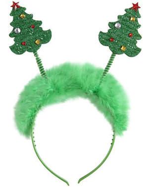 Diademă brazi de Crăciun