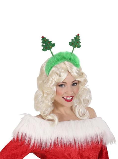 Diadema de árboles de Navidad - para tu disfraz
