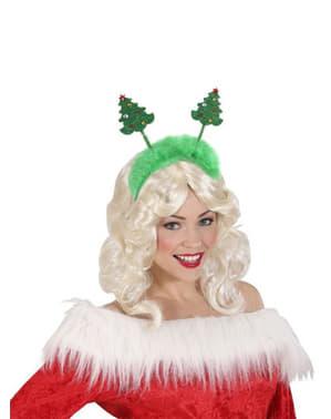 Hårbøjle med juletræ unisex