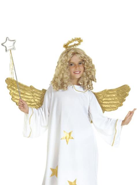 Alas de ángel doradas - para tu disfraz