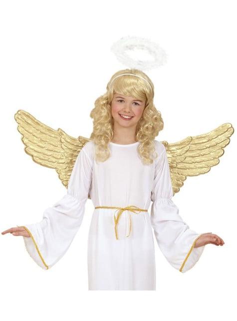 Alas de ángel doradas - original