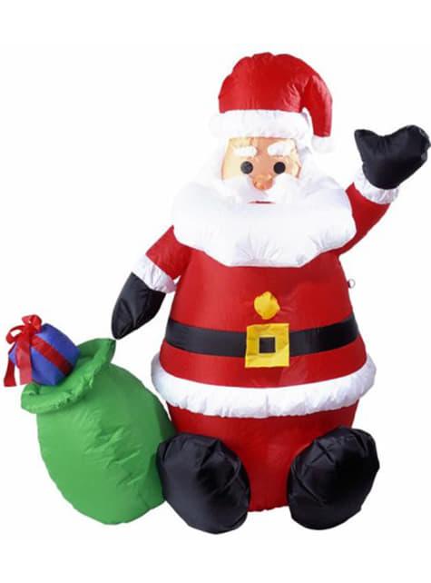 Święty Mikołaj nadmuchiwany