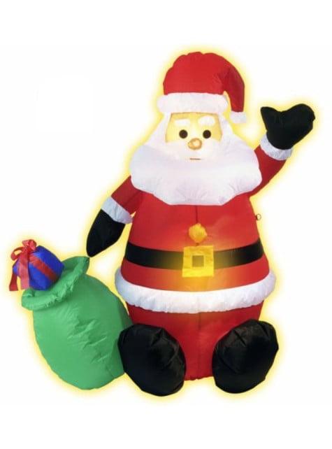 Papá Noel hinchable