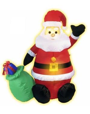 Moș Crăciun gonflabil