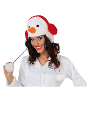 Шапка със снежен човек