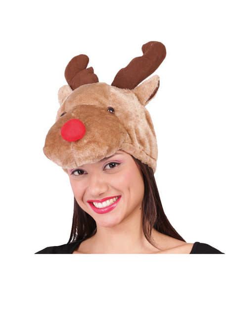 Gorro de reno Rudolf