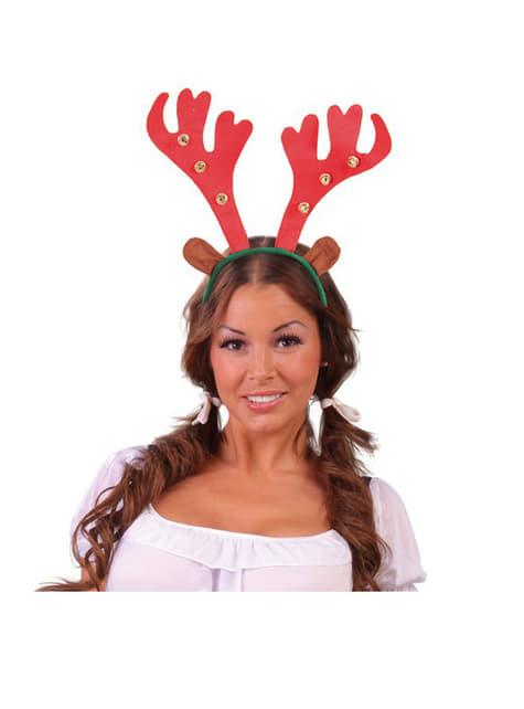Serre tête Rudolph avec clochettes