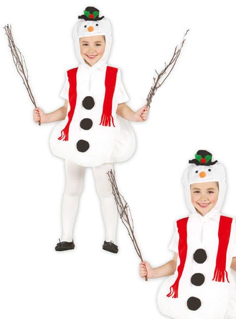Happy Christmas snowman costume