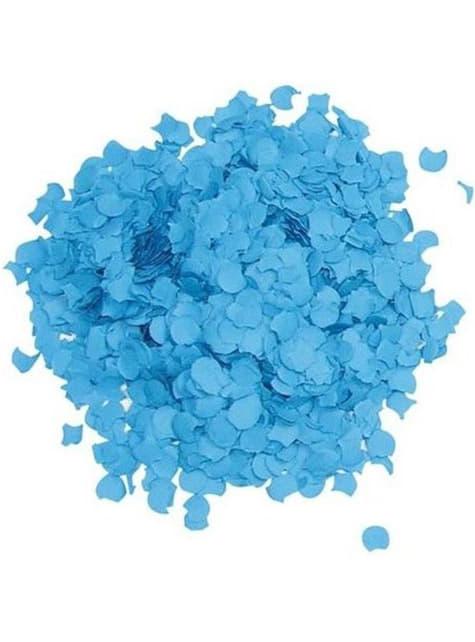 Bolsa de confetti azul 5 kilos