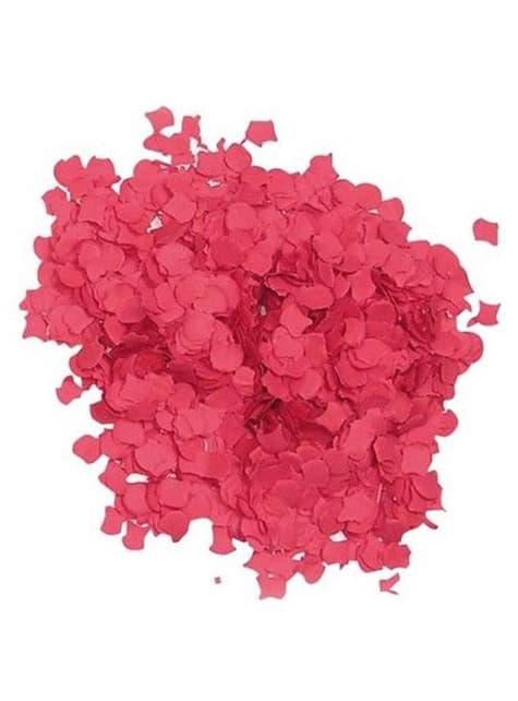 Bolsa de confetti rojo 1 kilo