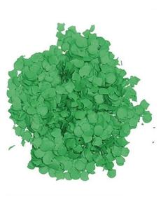Bolsa de confetti verde 10 kilos
