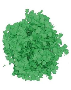 Bolsa de confetti verde 5 kilos