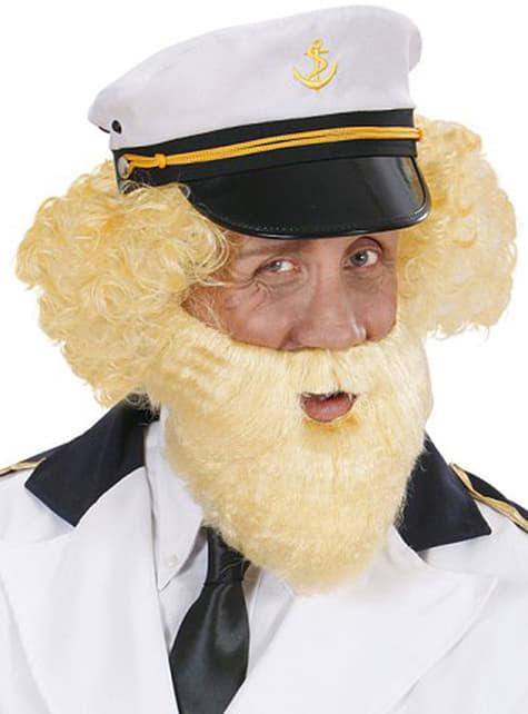 Alter Seemann blonder Bart
