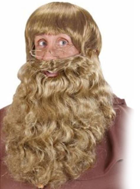 Maxi barba rubia