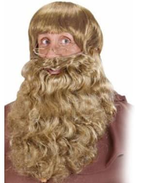 Stor blond skæg
