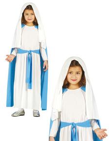 ebefdb6ef175ee Maagd Maria kostuums voor meisjes en vrouwen