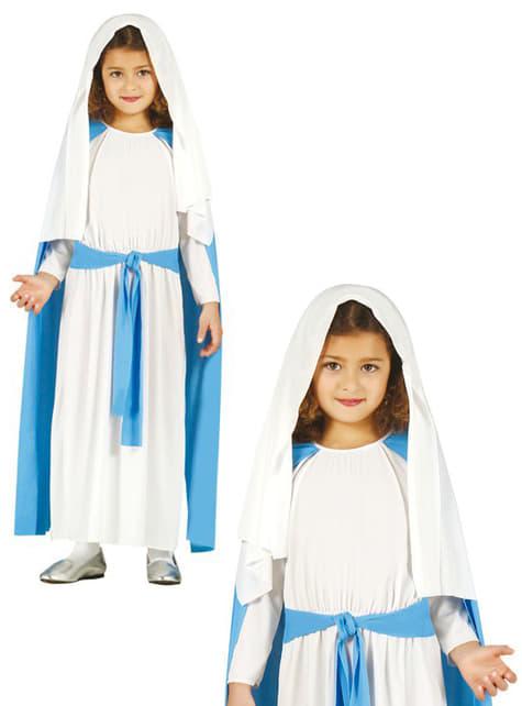 Disfraz de la Virgen María Classic para niña