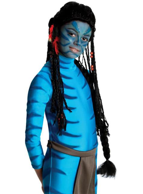 Peruka Neytiri Avatar dla dzieci