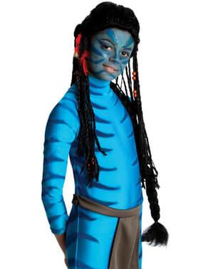 Peluca de Neytiri Avatar infantil