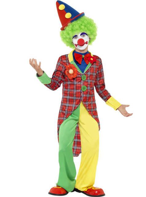 Цирковой костюм клоуна для ребенка