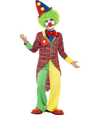 Cirkusklovnekostume til dreng