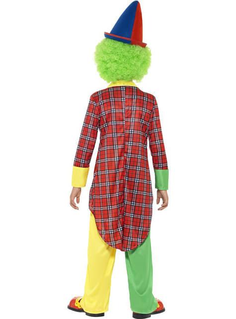 子供のためのサーカスのピエロ衣装