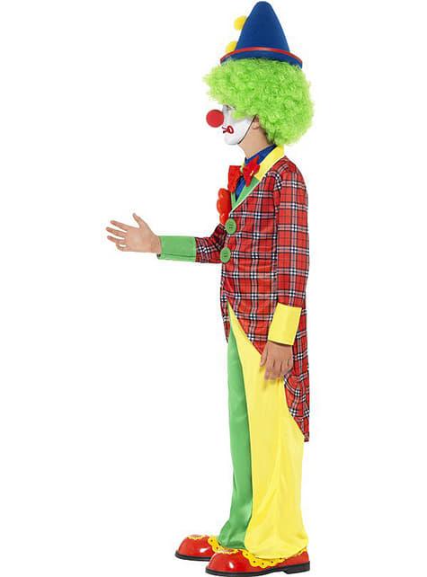 Déguisement clown de cirque pour enfant