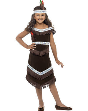 Apache indiai ruha egy lánynak
