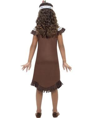 Apache indiaan Kostuum voor meisjes
