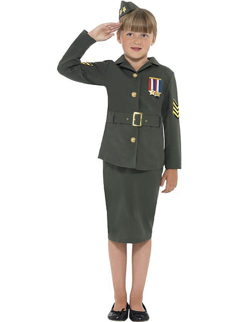 女の子のための戦士の衣装