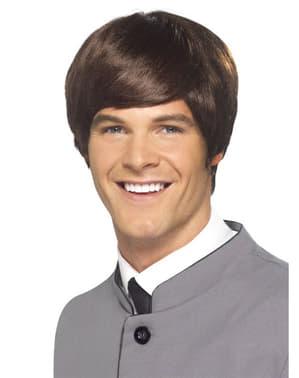 1960s brown wig