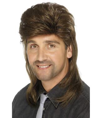 80-і роки стиль Браун перуку для чоловіків