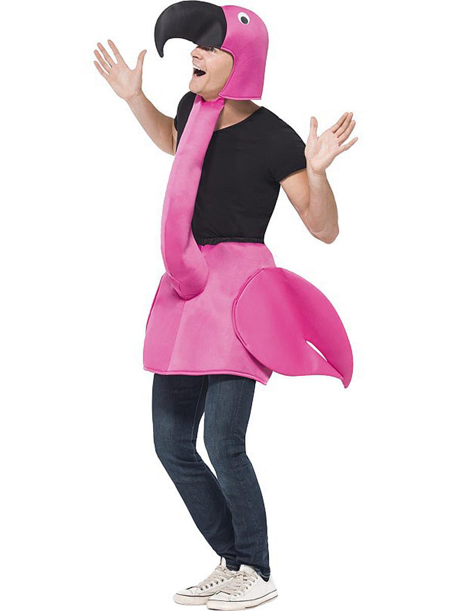 flamingo kost m f r erwachsene rosa funidelia. Black Bedroom Furniture Sets. Home Design Ideas