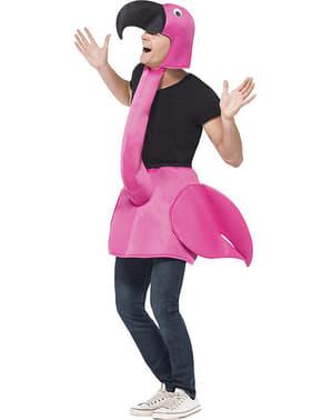 Flamingo Kostüm für Erwachsene rosa