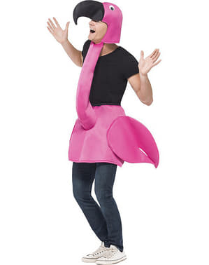 Kostým pro dospělé plameňák růžový