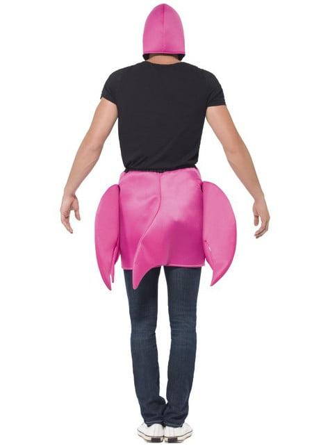 大人のためのピンクのフラミンゴ衣装