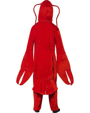 Fato de lagosta lagostinha para adulto