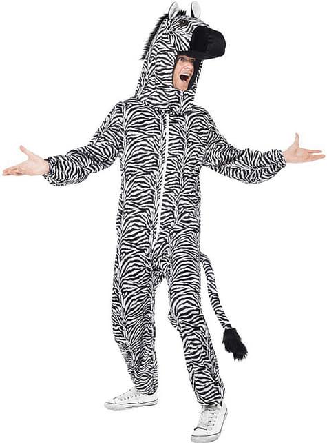 Костюм зебри для дорослих