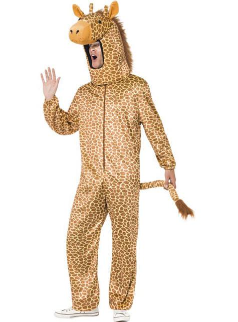 Zsiráf jelmez egy felnőttnek