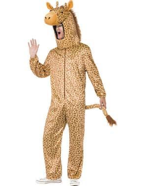 Déguisement girafe pour adulte