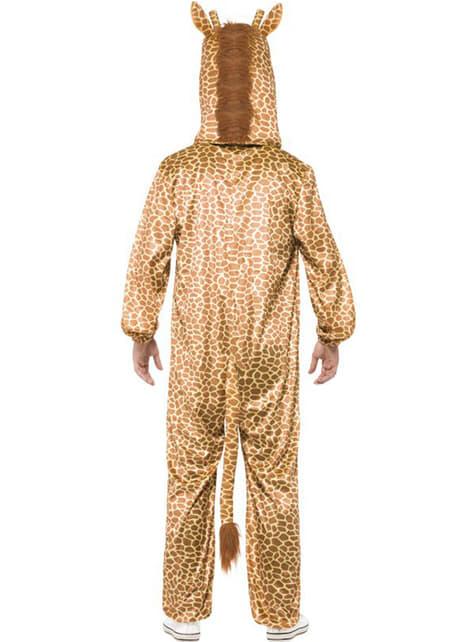 Disfraz de jirafa classic para adulto - hombre