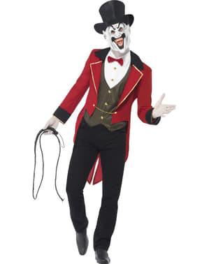 Baljós cirkuszmester jelmez férfiaknak