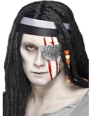 Pirat øyelapp lateks protese